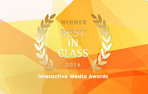 Interactive Media Awards 2016 - Best In Class